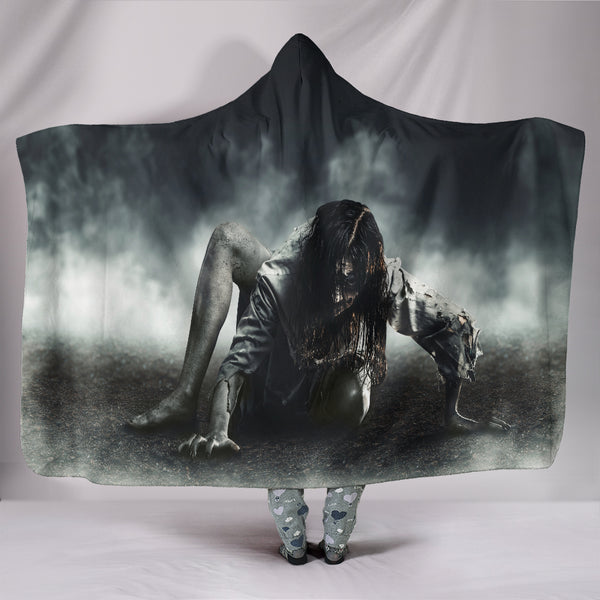 Zombie Hooded Blanket