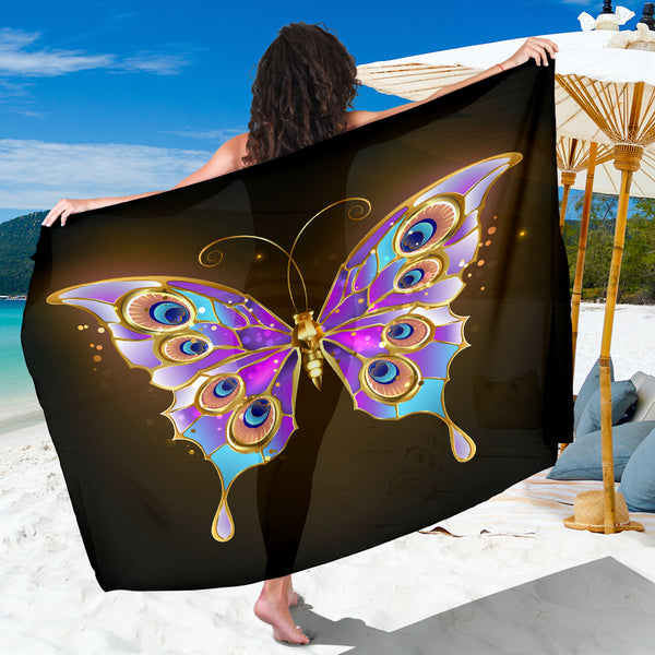 Golden Butterfly Sarong