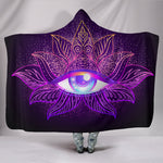 All Seeing Hooded Blanket