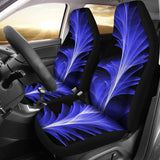 Blue Feather Car Seat Covers