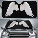 White Angel Wings Sun Shade