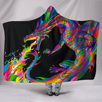 Fantasy Dragon Hooded Blanket