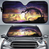 Dragon Sunset Sun Shade