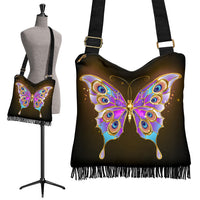 Golden Butterfly Boho Bag