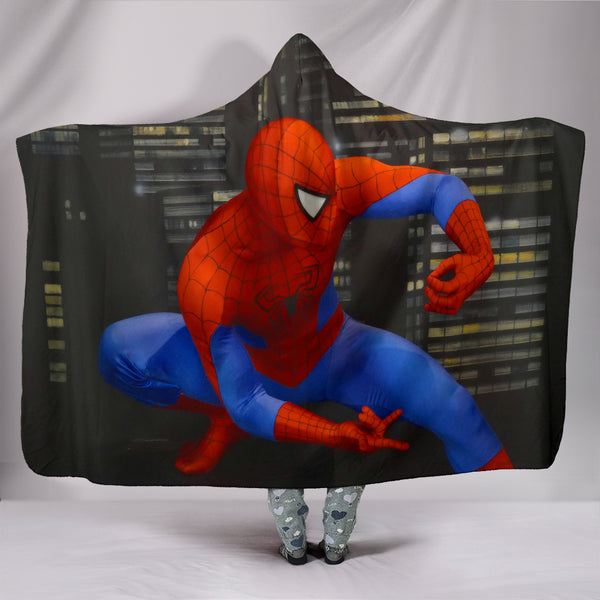 Spiderman Hooded Blanket