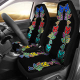 Four Directions Floral Car Seat Covers