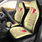 Proud English Teacher Car Seat Covers