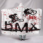 BMX Silhouette Hooded Blanket