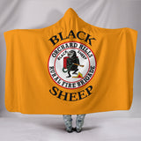 Black Sheep Hooded Blanket