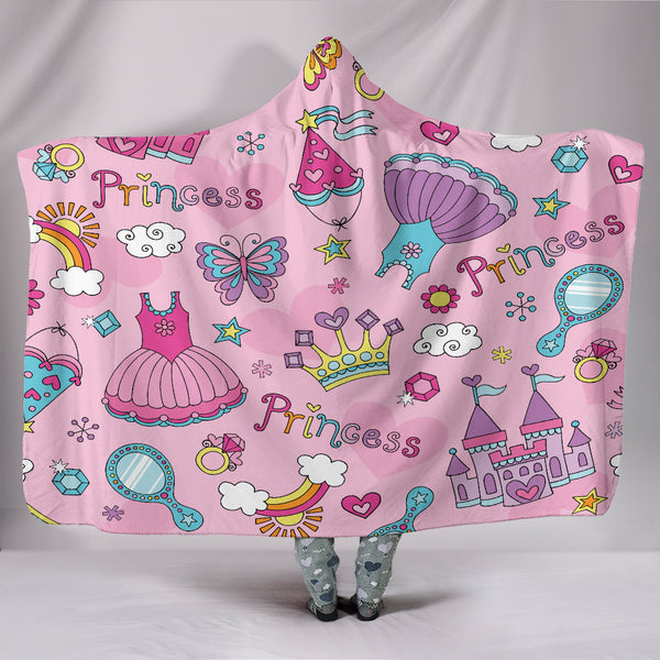 Princess Hooded Blanket