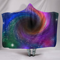 Black Hole Hooded Blanket