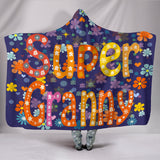 Super Granny Hooded Blanket