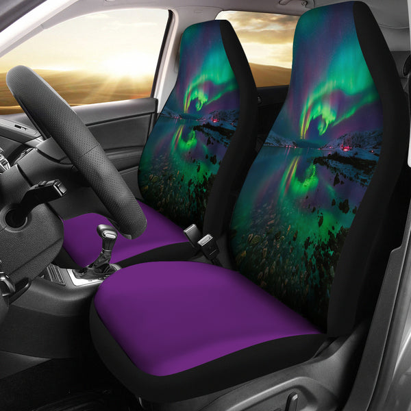 The Northern Lights Car Seat Covers