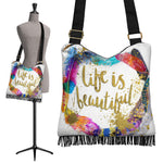 Life Is Beautiful Boho Bag