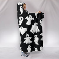 Ghost Hooded Blanket