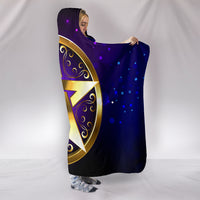 Magic Pentagram Hooded Blanket