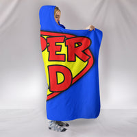 Super Dad Hooded Blanket