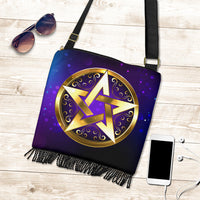 Magic Pentagram Boho Bag