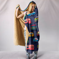 Caravan Hooded Blanket