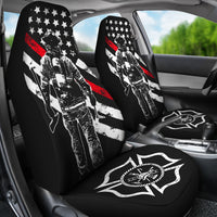 Firefighters Car Seat Covers