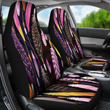 Feathers Car Seat Covers
