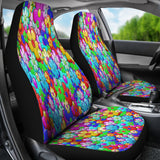 Bright Flower Summer Car Seat Covers