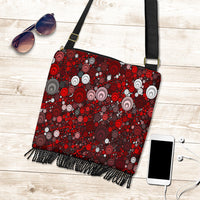 Red Dots Boho Bag