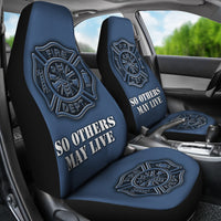 Fire Department Car Seat Covers