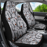 Weimaraner Car Seat Covers