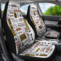 Dog Quotes Car Seat Covers
