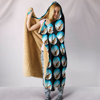 Trout Fishing Hooded Blanket