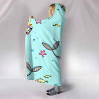 Mercaticorn Hooded Blanket