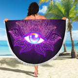 All Seeing Beach Blanket