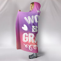 World's Best Grandma Hooded Blanket
