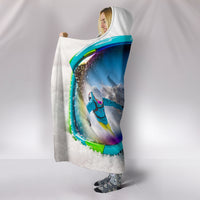 Snow Goggles Hooded Blanket