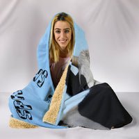 Cows Are Friends Hooded Blanket