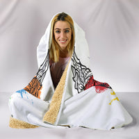 Colorbull Hooded Blanket
