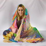 Love Under Fire Hooded Blanket