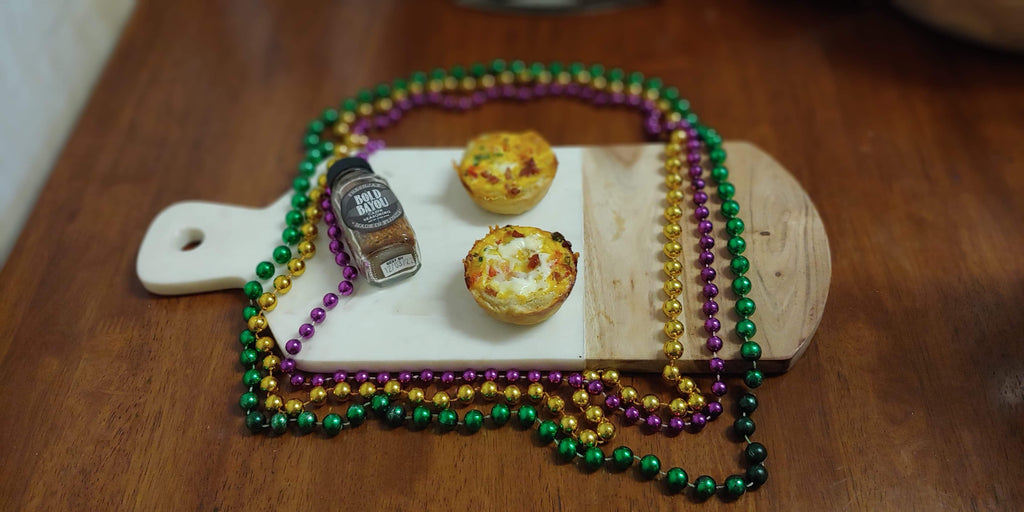 Cajun Quiches with Organic Cajun Spice