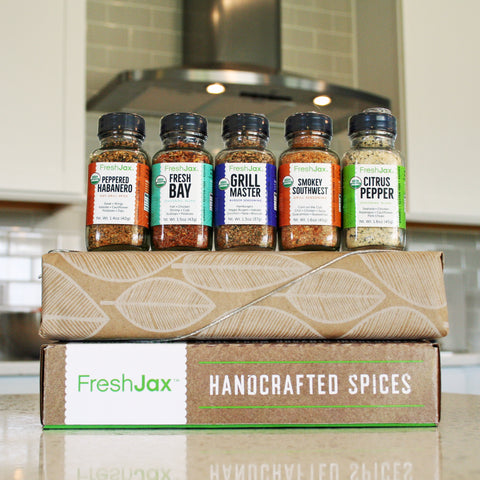 Organic Grilling Spices Gift Set