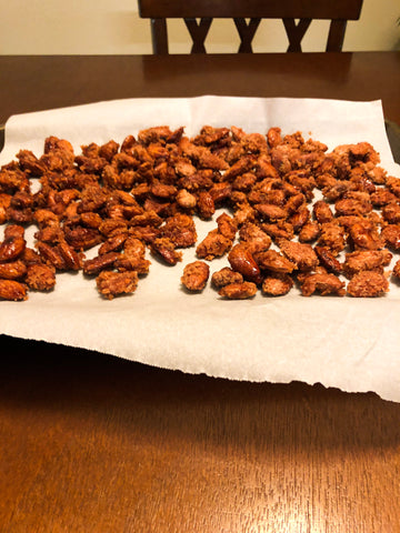 Organic Maple Cinnamon Spice Almonds