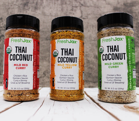 Coconut Curry: Organic Spiced Coconut