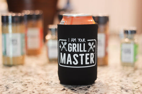FreshJax Organic Spices I Am Your Grill Master® Can Cooler