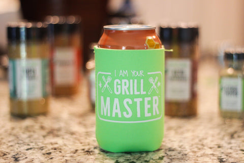 I Am Your Grill Master Can Cooler