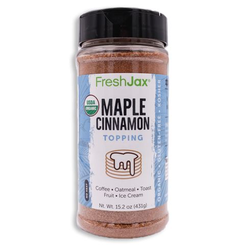 Organic Maple Cinnamon Topping