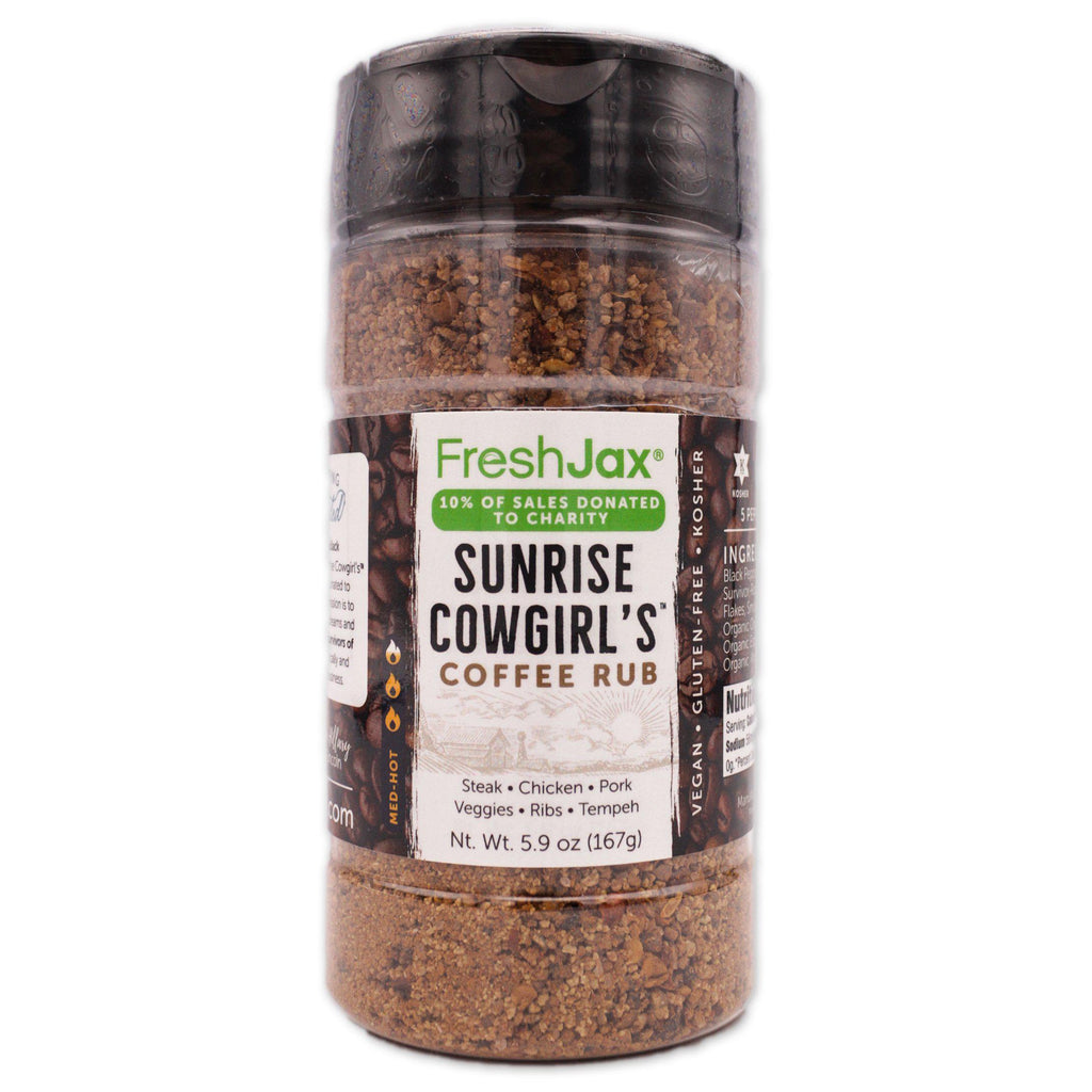 FreshJax Organic Spices Sunrise Cowgirl's® Coffee Rub