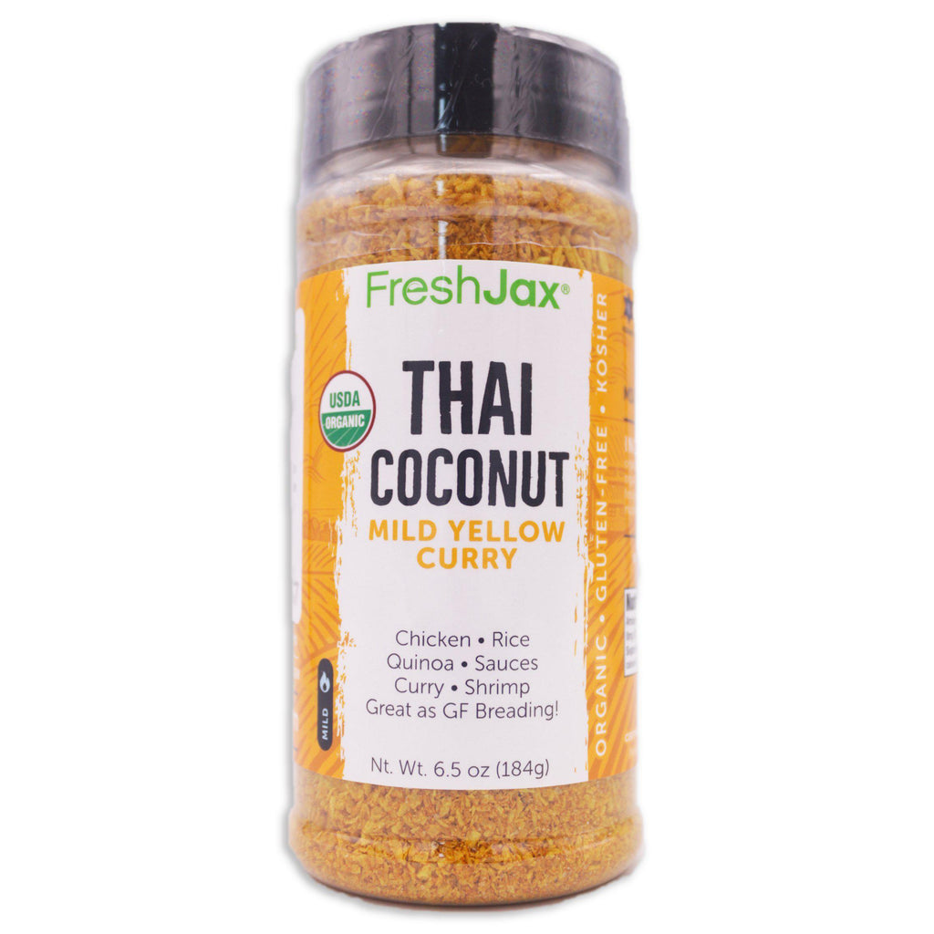 FreshJax Organic Spices Coconut Curry: Organic Spiced Coconut