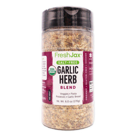 Garlic Herb: Organic Salt-Free Herb Blend