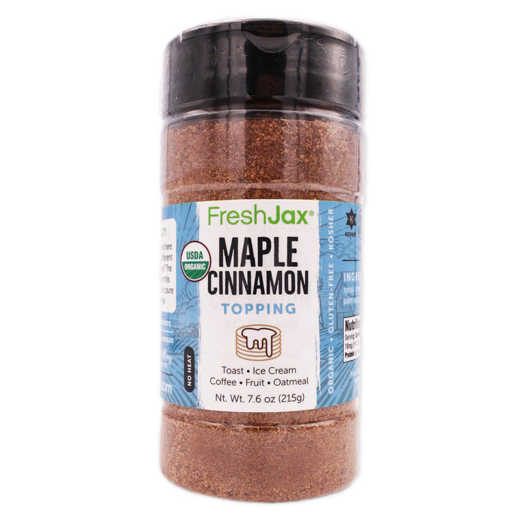 FreshJax Organic Spices Maple Cinnamon: Organic Topping