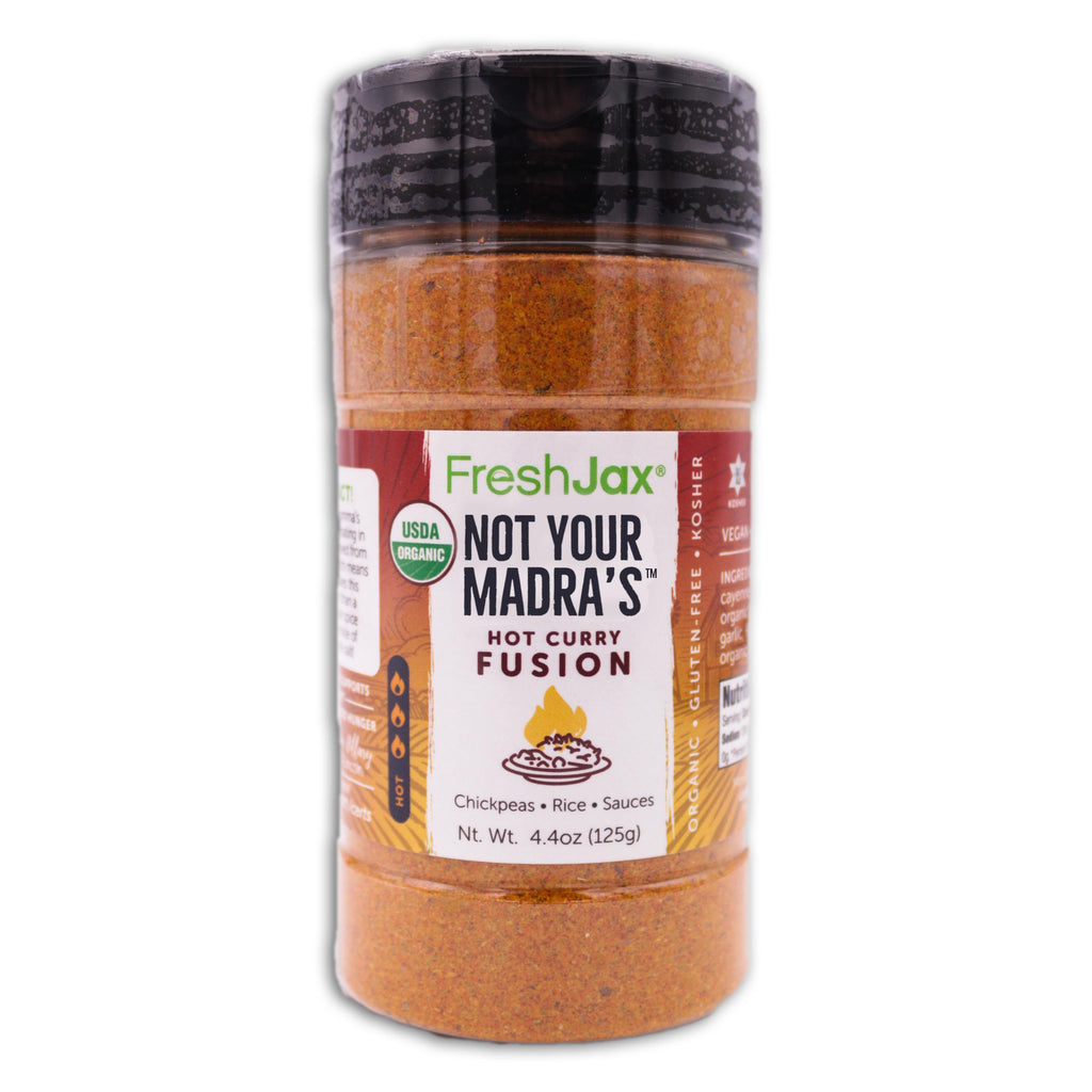 FreshJax Organic Spices Not Your Madra's™: Organic Hot Red Curry